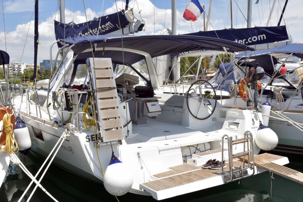Boat rental Saint-Mandrier-sur-Mer cheap Oceanis 48