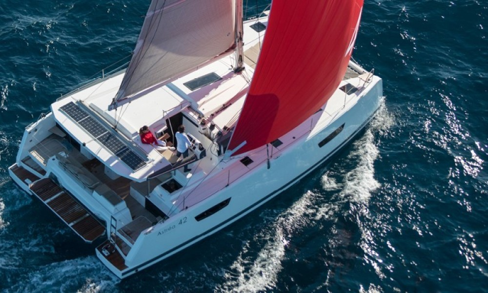 Fountaine Pajot Astrea 42 between personal and professional Trogir