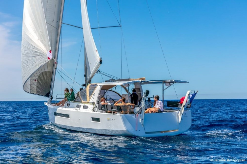 Rental Sailboat in Trogir - Jeanneau Sun Loft 47