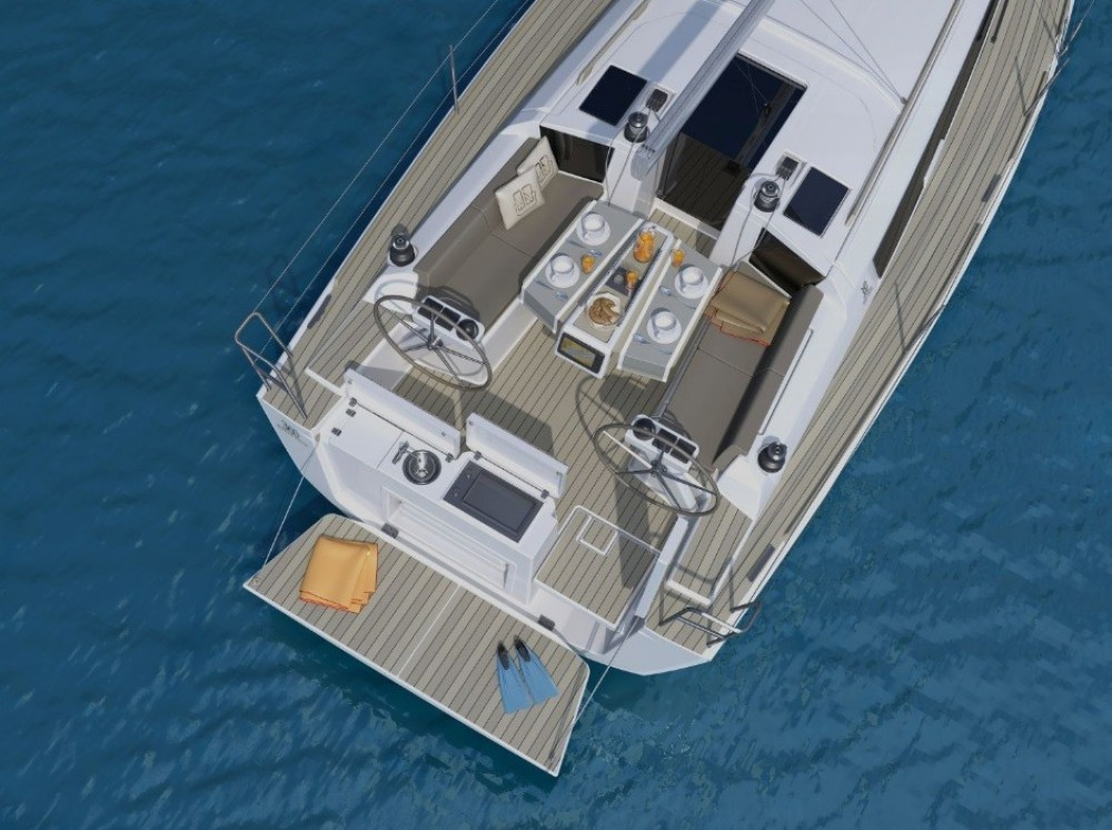 Rental yacht Saint-Mandrier-sur-Mer - Dufour Dufour 360 Liberty on SamBoat