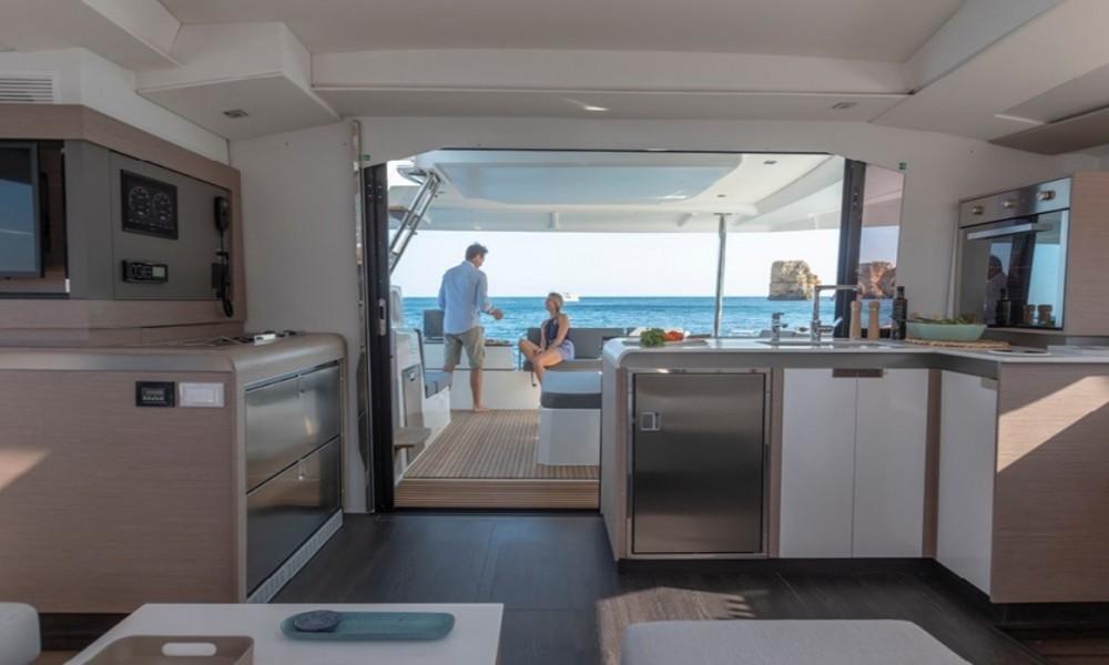 Rental yacht Corfu - Fountaine Pajot Elba 45 on SamBoat