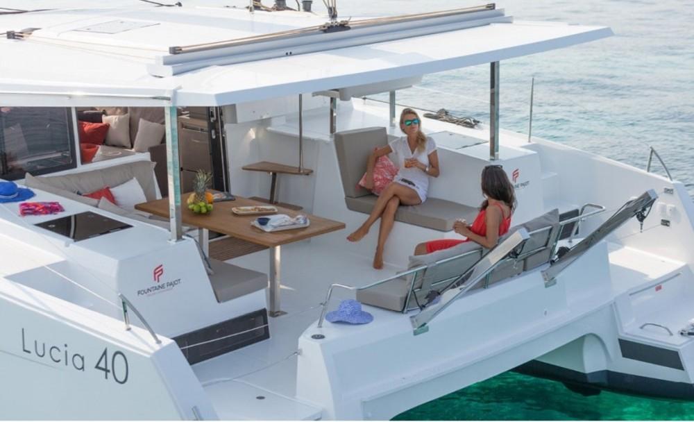 Boat rental Olbia cheap Fountaine Pajot