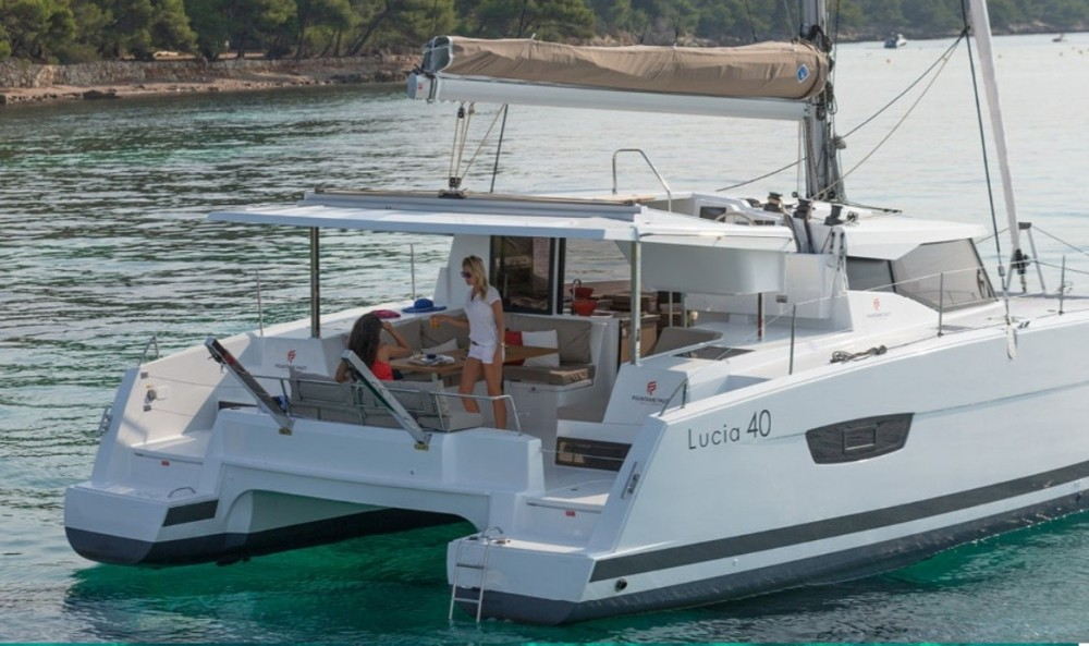 Hire Catamaran with or without skipper Fountaine Pajot Olbia
