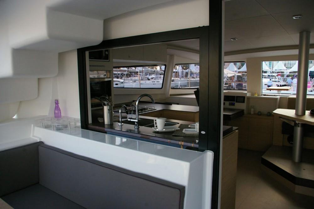 Rental Catamaran in Greece - Catana Bali 4.5