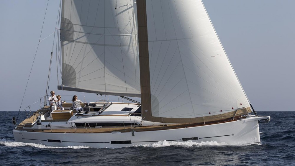 Dufour Dufour 460 Grand Large between personal and professional Naples
