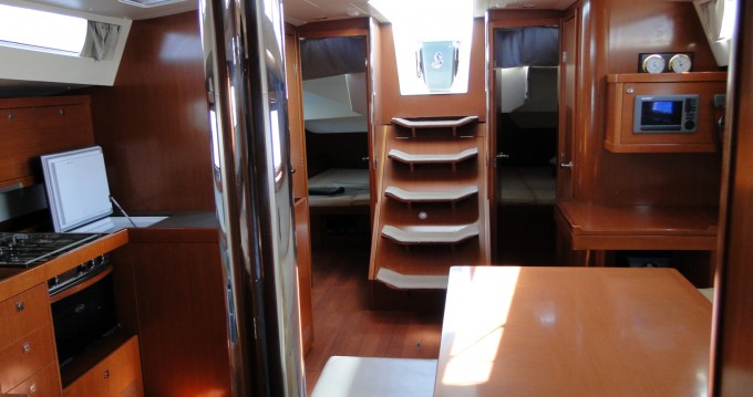 Boat rental Naples cheap Oceanis 48