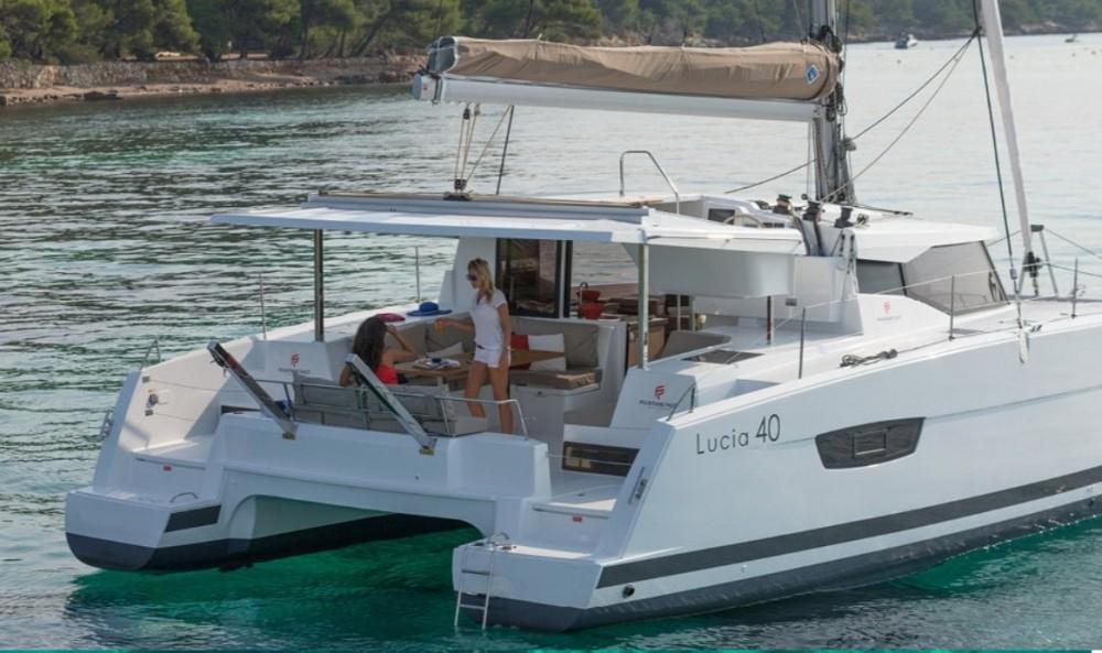 Rental yacht Kotor - Fountaine Pajot Lucia 40 on SamBoat