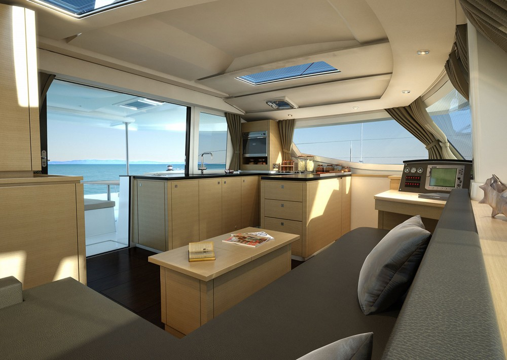 Rental yacht Kotor - Fountaine Pajot Helia 44 on SamBoat