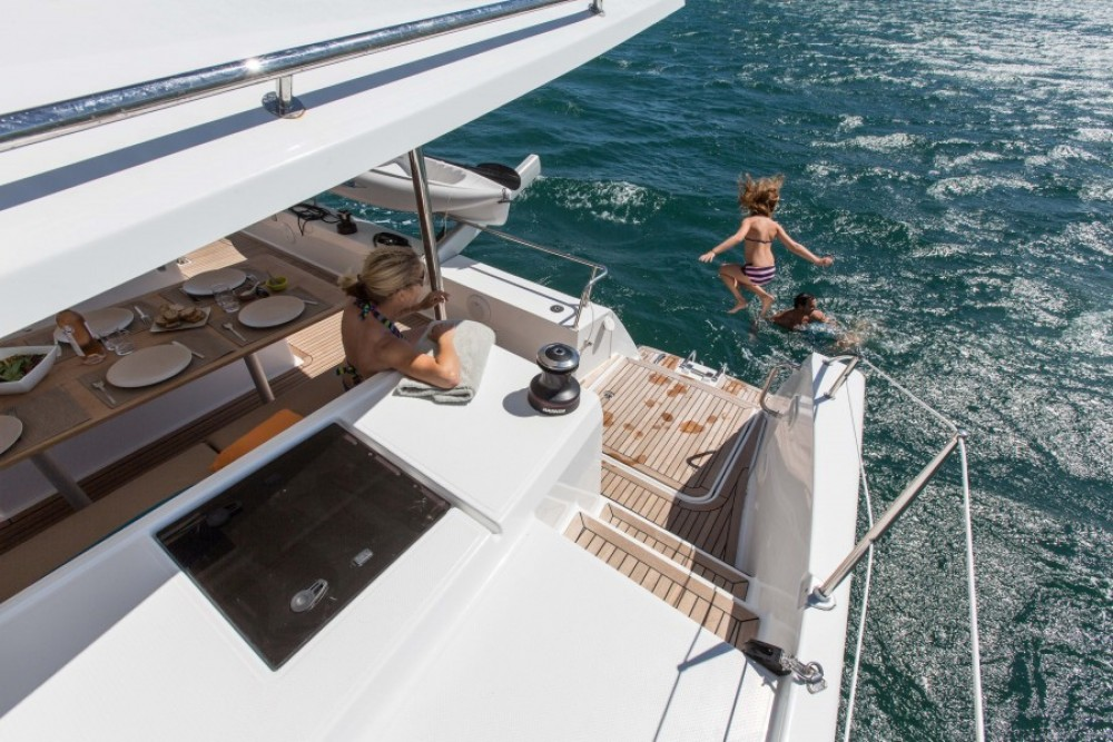 Boat rental Kotor cheap Helia 44