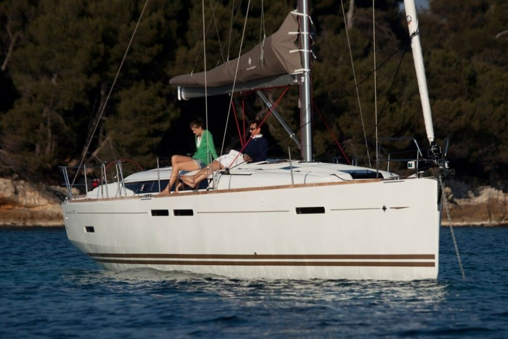 Boat rental Kotor cheap Sun Odyssey 439