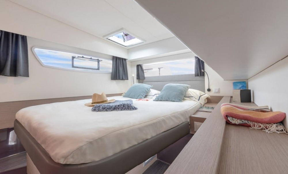 Fountaine Pajot Elba 45 between personal and professional Palma