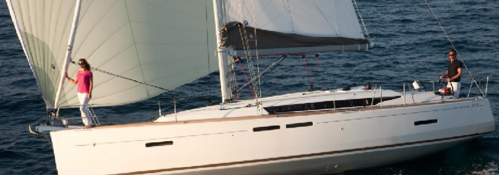 Jeanneau Sun Odyssey 419 between personal and professional Palma