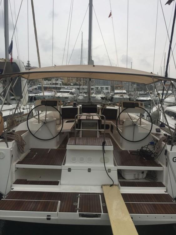 Boat rental Palma cheap Dufour 512