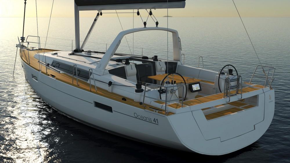Rental yacht Roses - Bénéteau Oceanis 41 on SamBoat