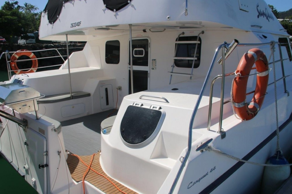 Boston Whaler Conquest 44 between personal and professional Airlie Beach