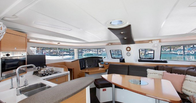 Fountaine Pajot Lipari 41 between personal and professional Airlie Beach