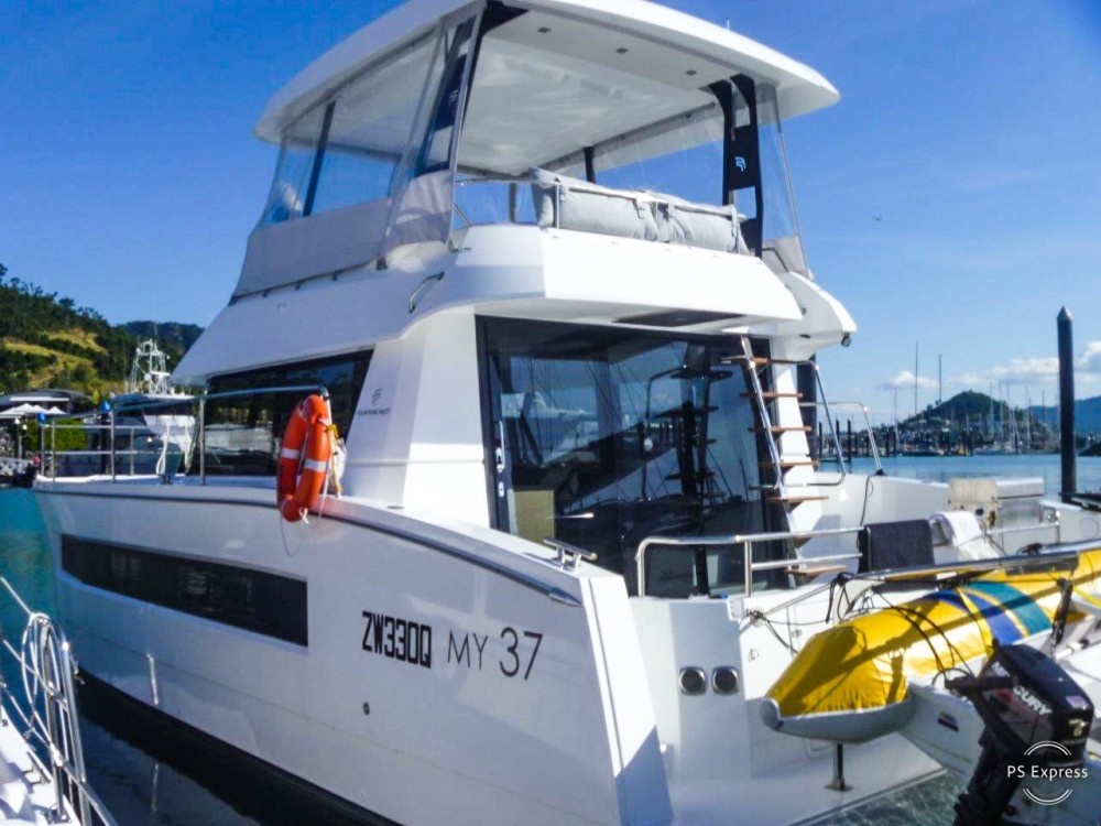 Hire Catamaran with or without skipper Fountaine Pajot Airlie Beach