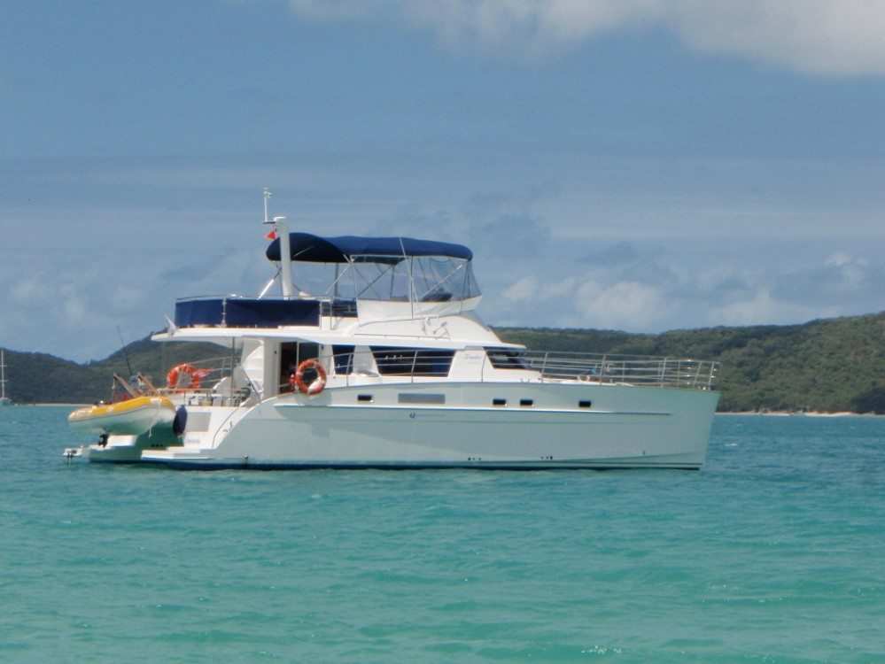 Fountaine Pajot Cumberland 46 between personal and professional Airlie Beach