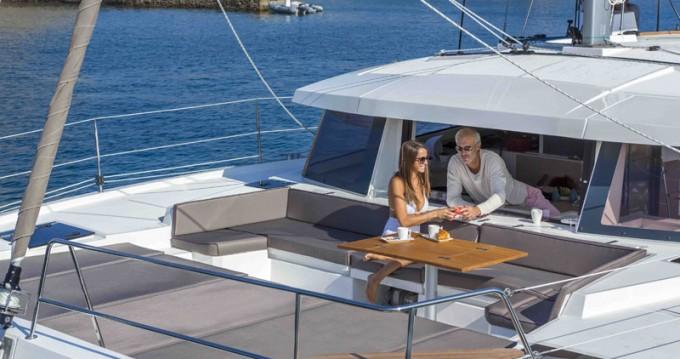 Rental Catamaran in Raiatea - Catana Bali 4.5