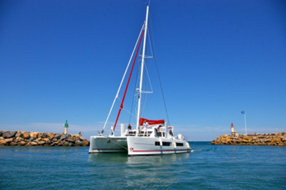 Boat rental Papeete cheap Catana 42 Carbon Infusion