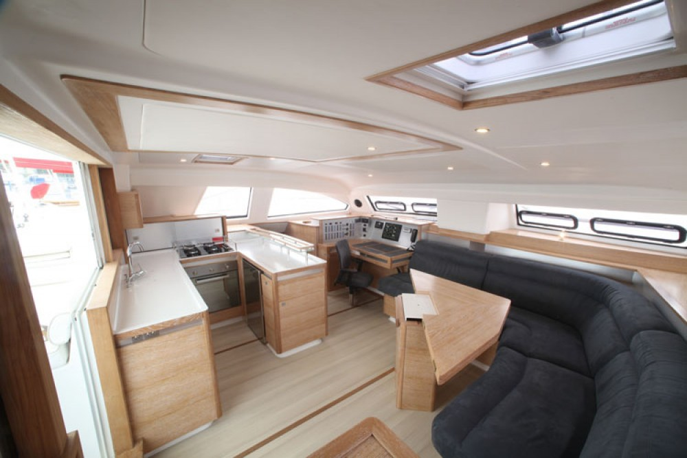 Catana Catana 55 Carbon Infusion between personal and professional Papeete