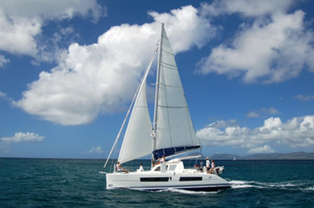 Boat rental Papeete cheap Catana 41 Ocean Class
