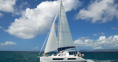 Catana Catana 41 Ocean Class between personal and professional Papeete