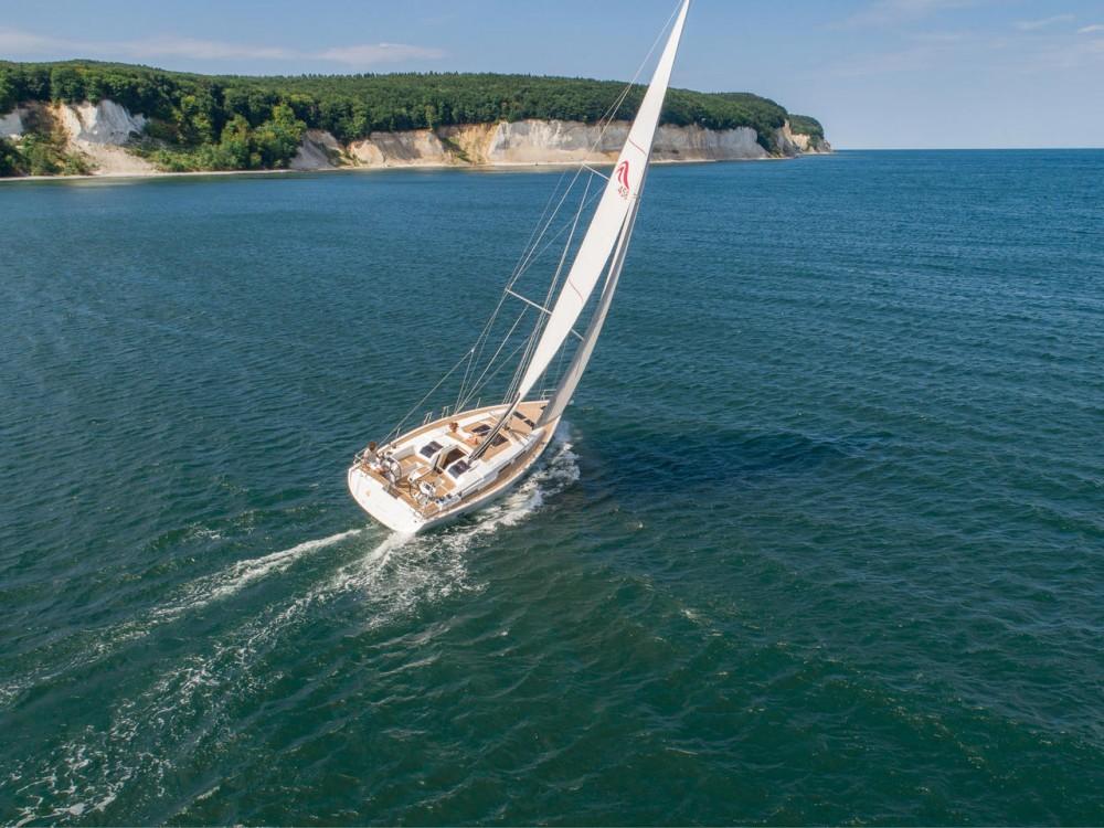 Rental Sailboat in Croatia - Hanse Hanse 458