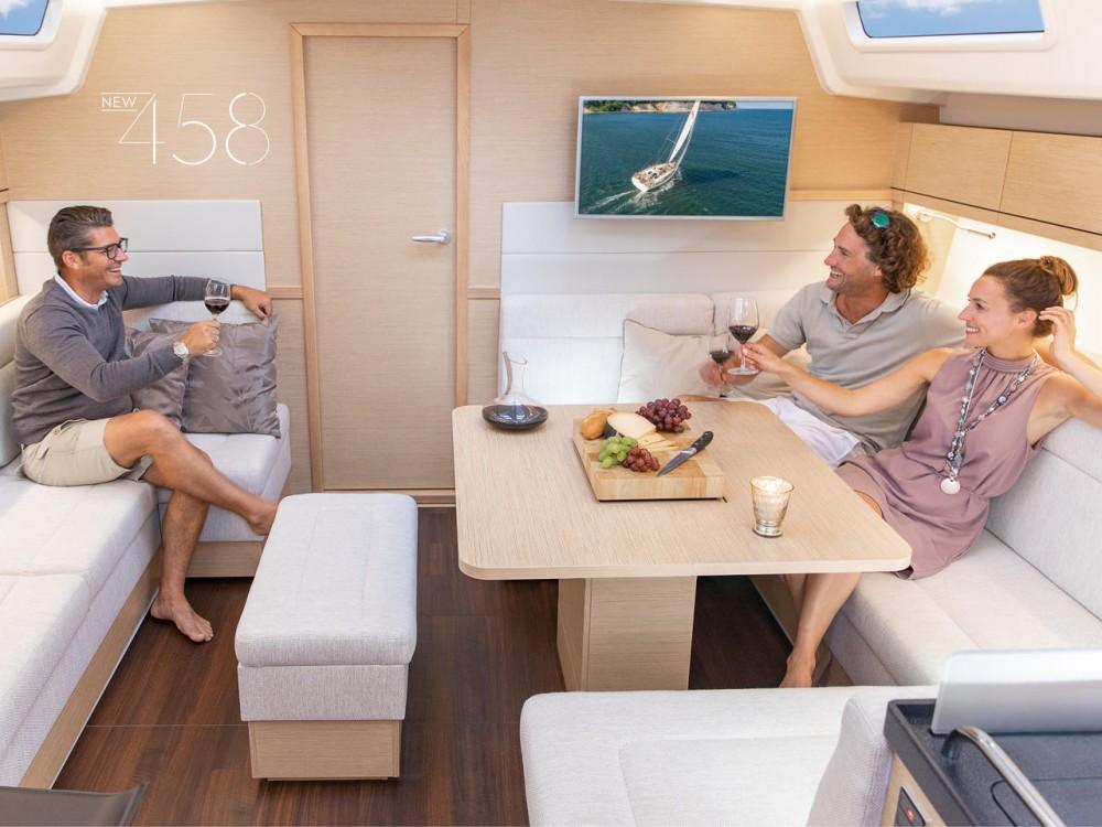 Boat rental Croatia cheap Hanse 458