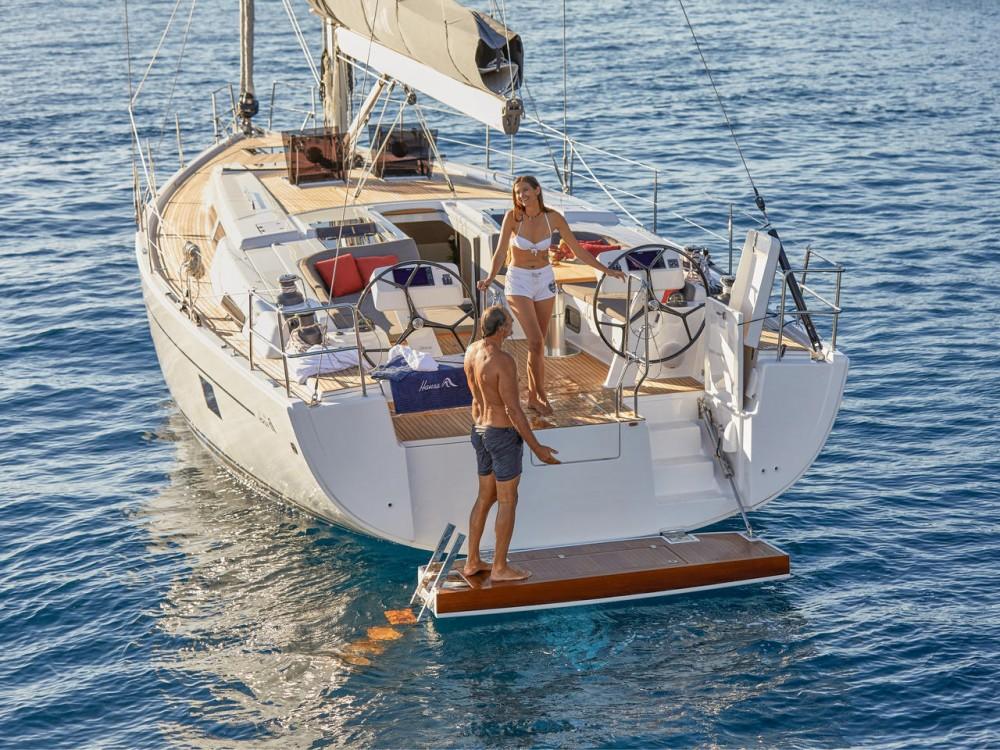 Rental yacht Lávrio - Hanse Hanse 508 - 5 cab. on SamBoat