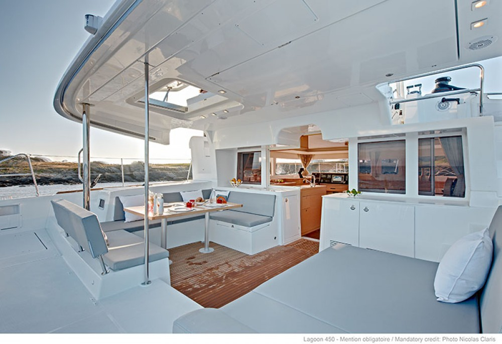 Rental Catamaran in Trogir - Lagoon Lagoon 450