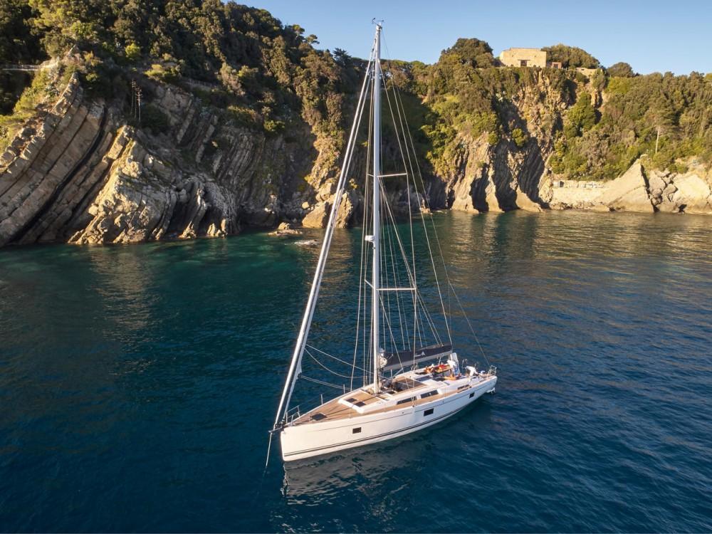Boat rental Peloponnese cheap Hanse 508 - 5 cab.