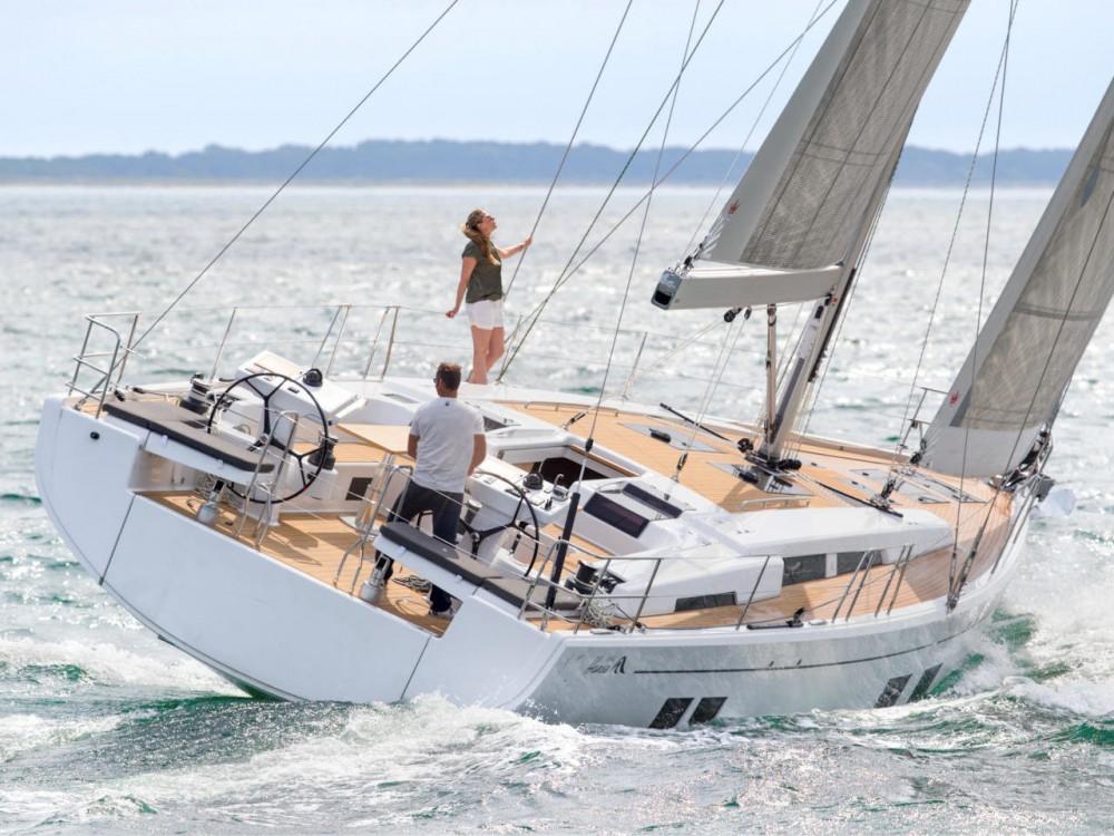 Rental Sailboat in Peloponnese - Hanse Hanse 548 - 5 cab.