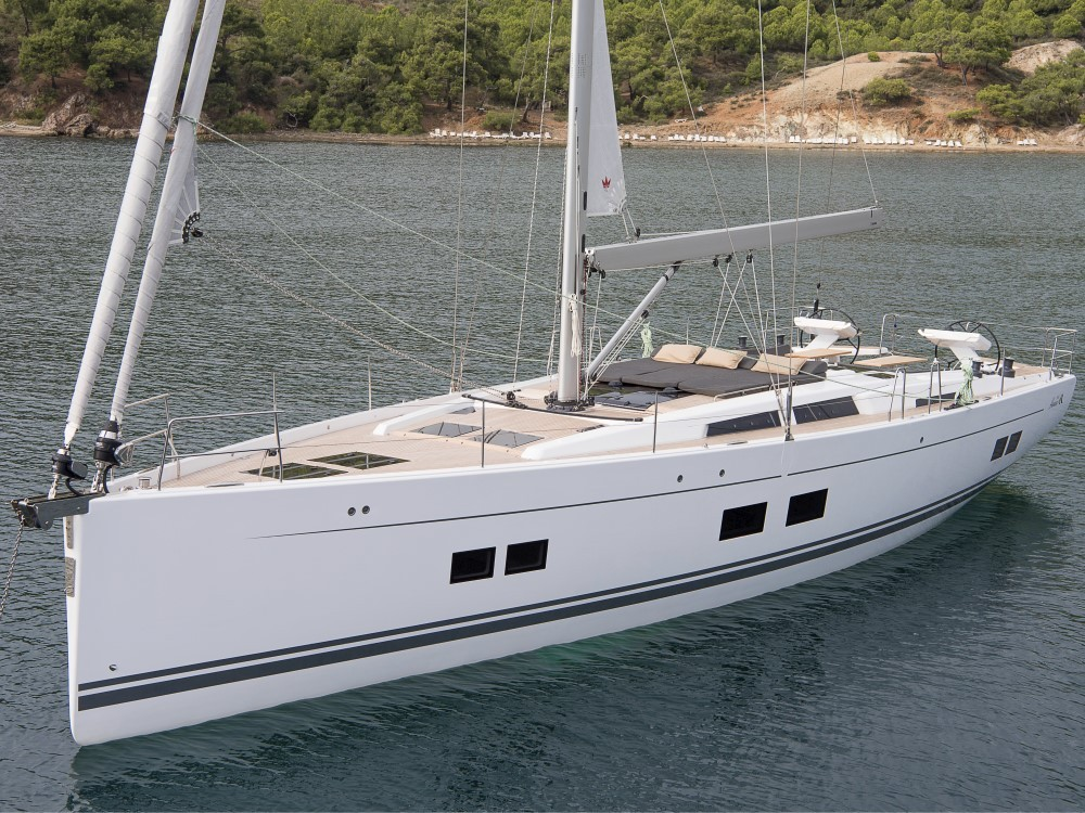 Hanse Hanse 588 - 4 + 1 cab. between personal and professional Croatie