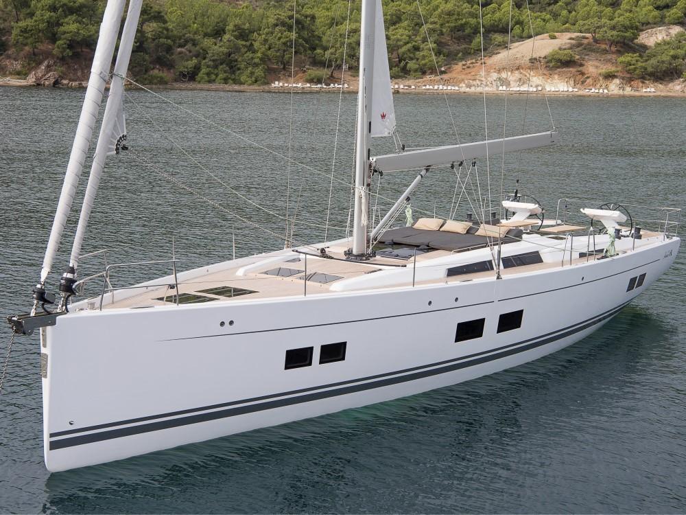 Boat rental Croacia cheap Hanse 588