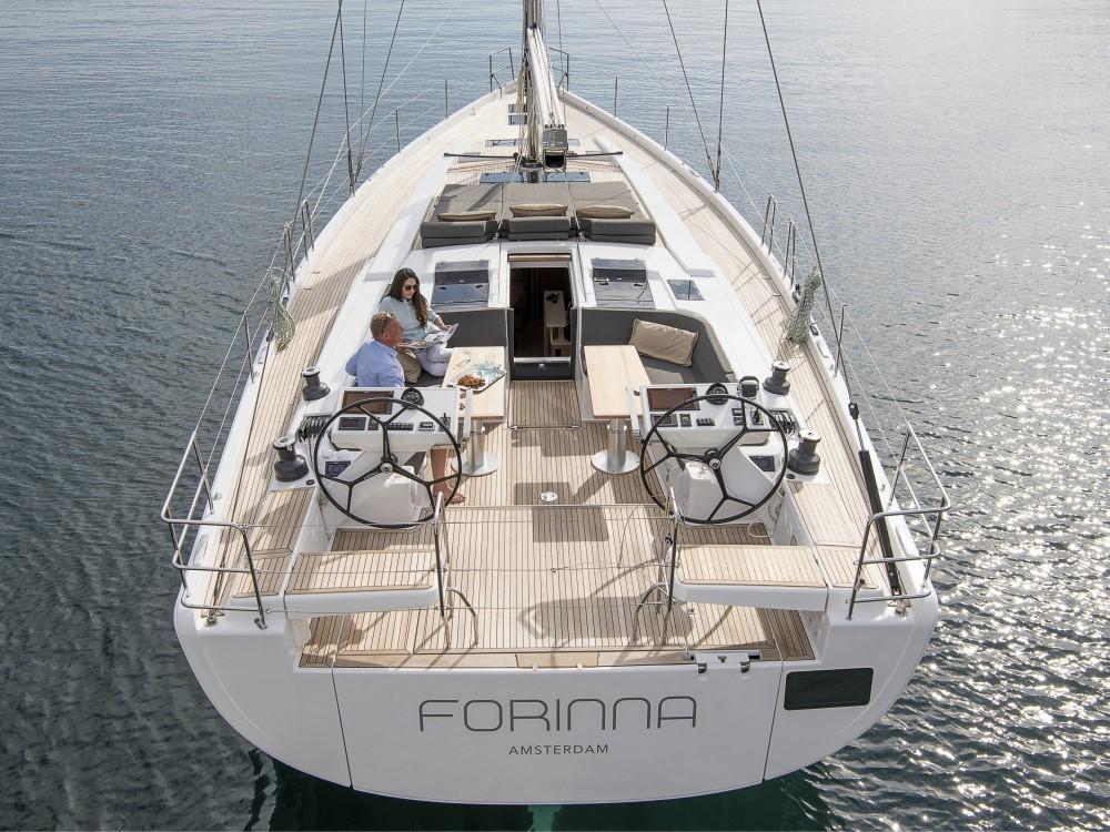 Rental Sailboat in Croacia - Hanse Hanse 588