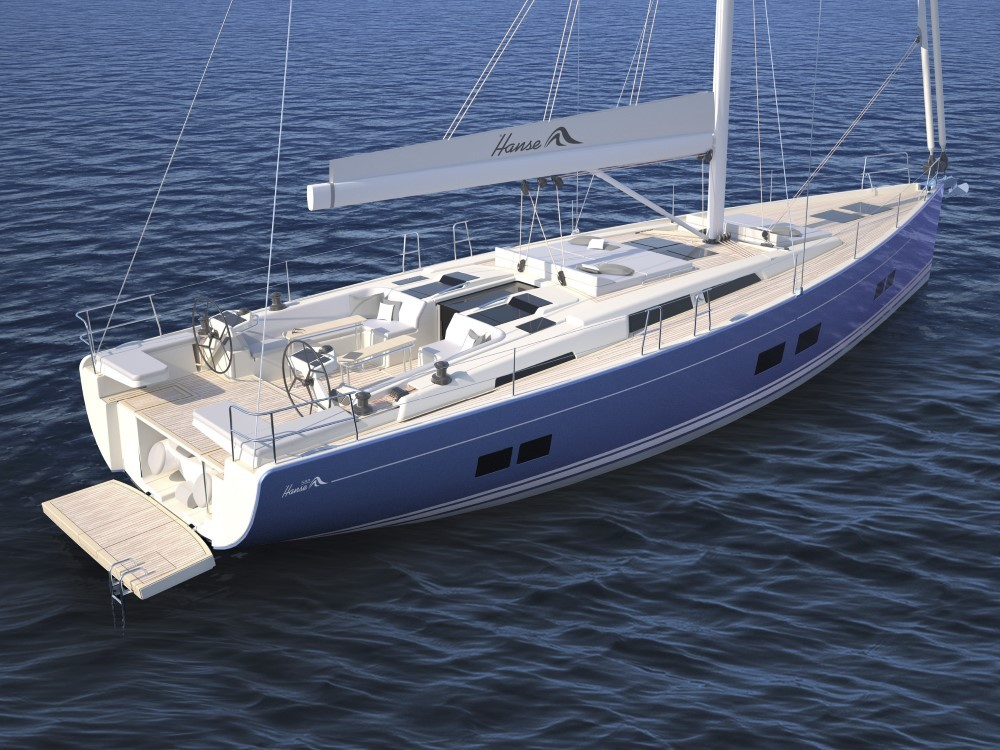 Rental yacht Croacia - Hanse Hanse 588 on SamBoat