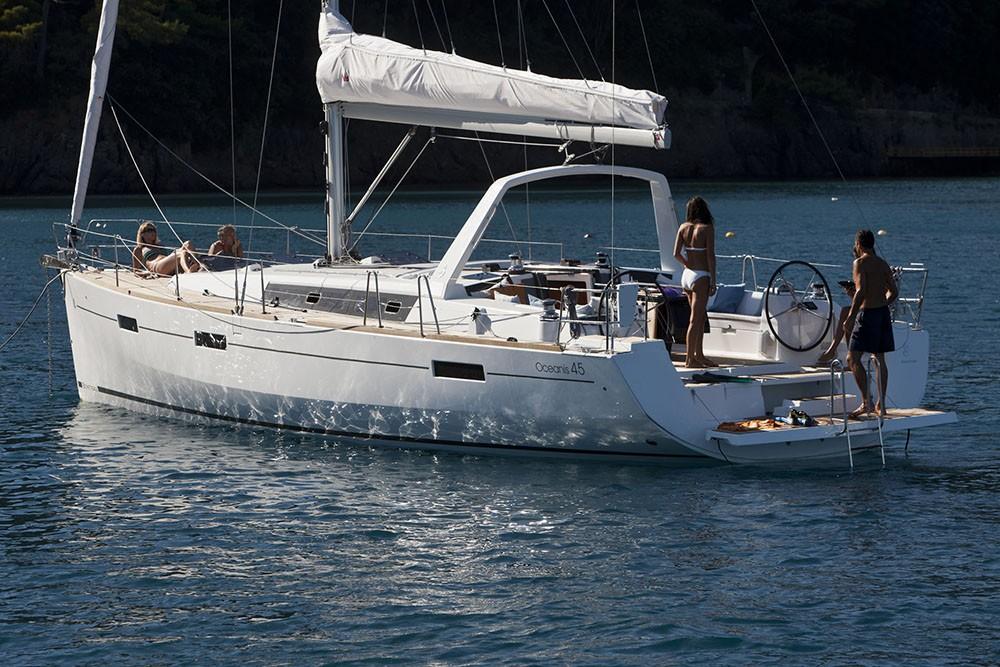 Rental yacht Croatia - Bénéteau Oceanis 45 on SamBoat