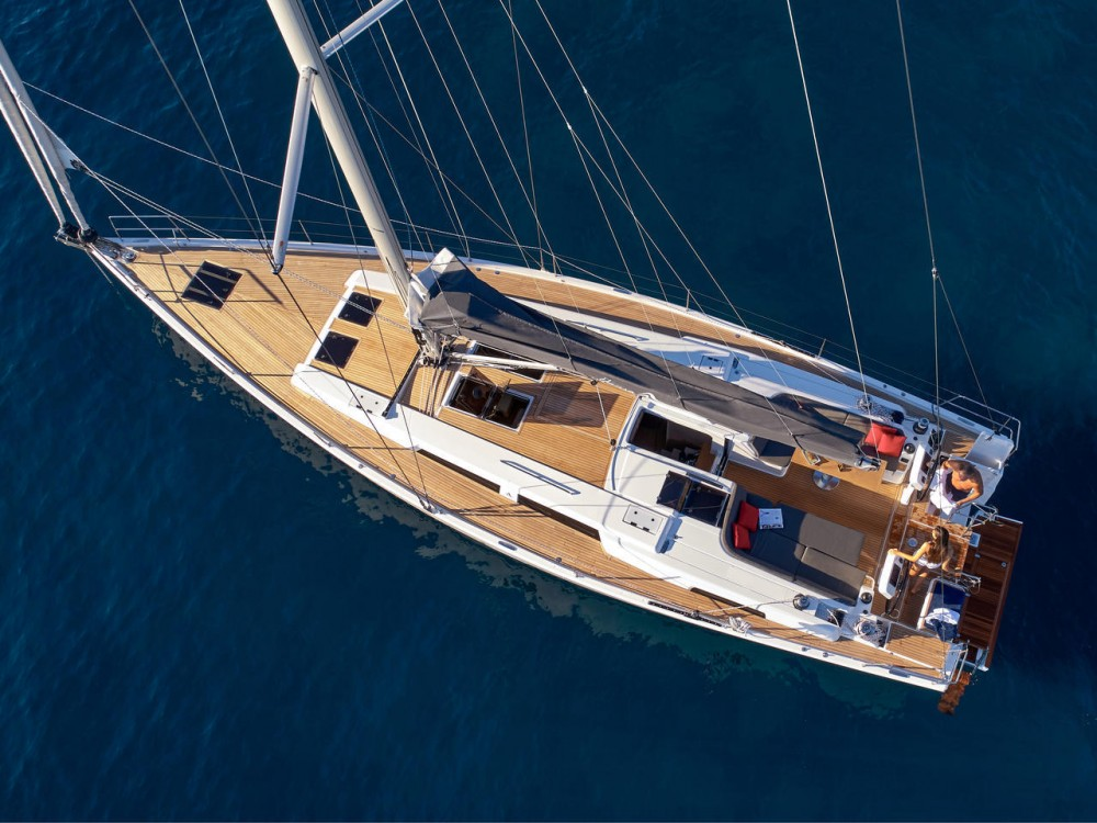 Boat rental Marina Kaštela cheap Hanse 508 - 5 + 1 cab.