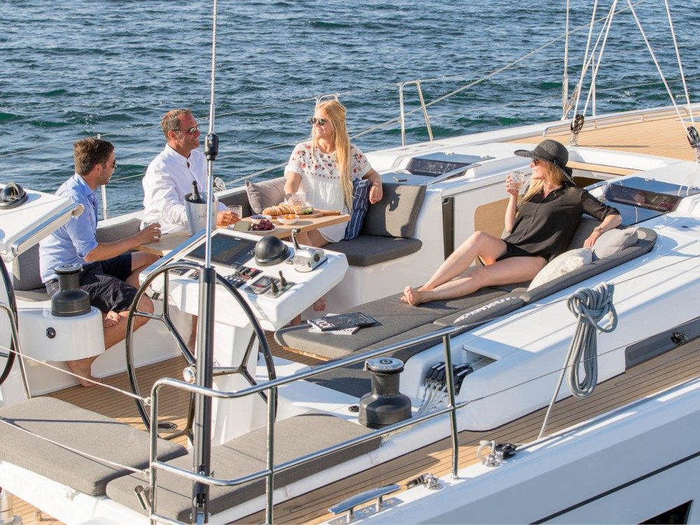 Boat rental Croatia cheap Hanse 548 - 5 + 1 cab.