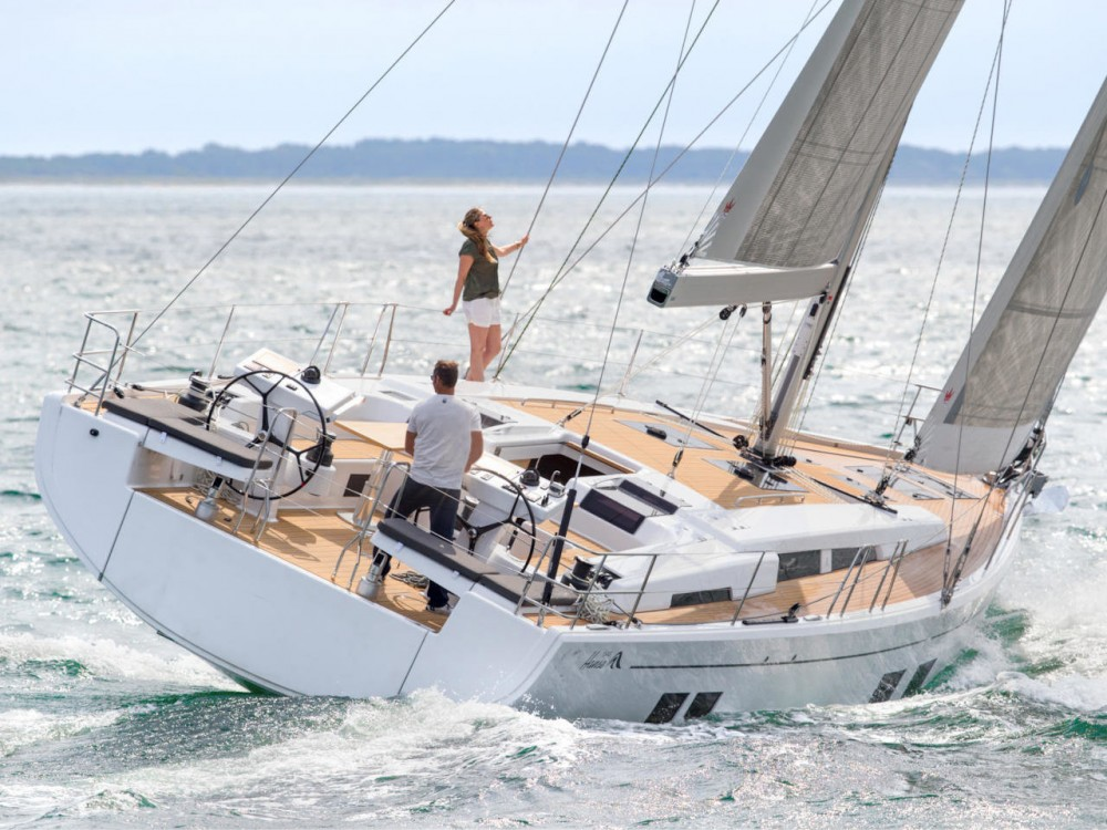 Rental yacht Croatia - Hanse Hanse 548 - 5 + 1 cab. on SamBoat
