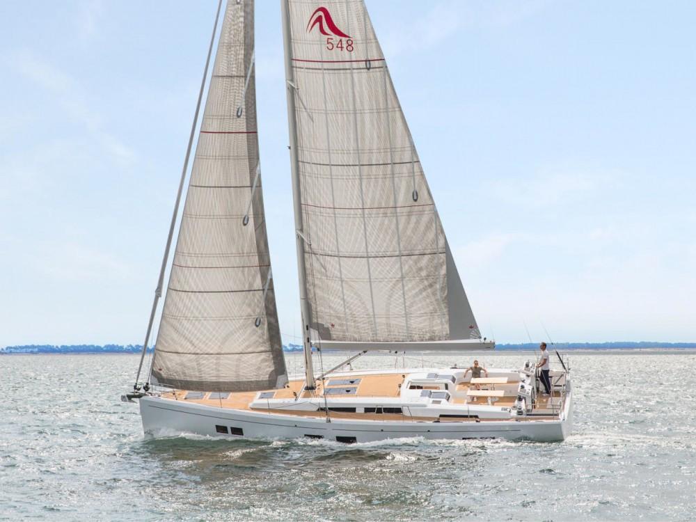 Boat rental Croatia cheap Hanse 548