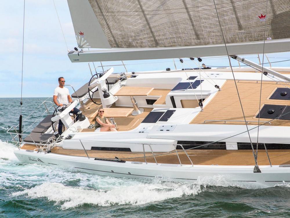 Boat rental Croacia cheap Hanse 548
