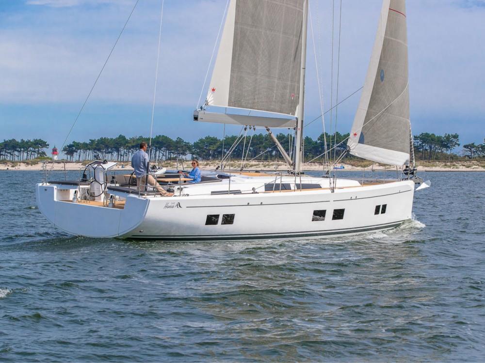 Boat rental Hanse Hanse 548 in Croacia on Samboat