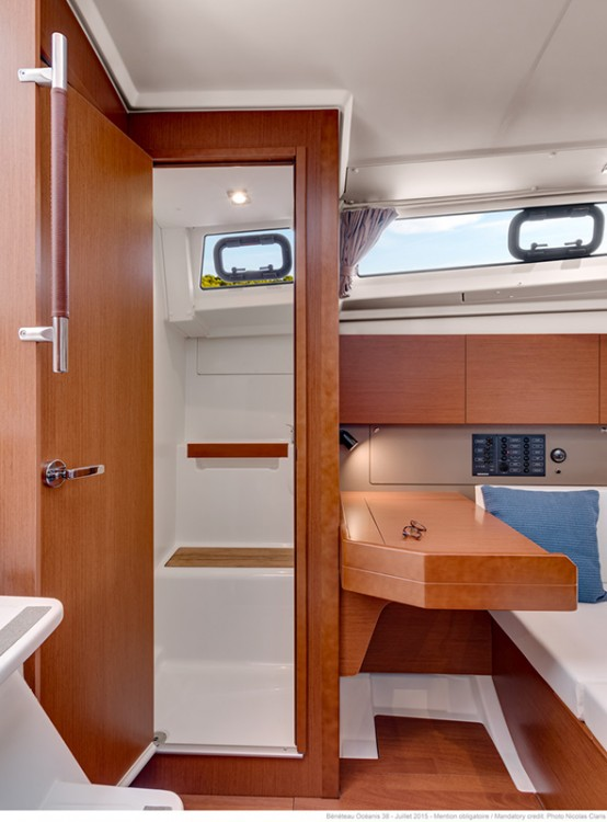 Boat rental Croatia cheap Oceanis 38