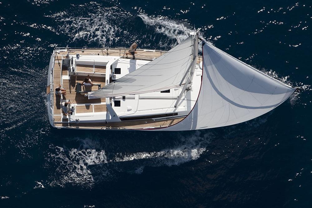 Boat rental Croatia cheap Oceanis 45