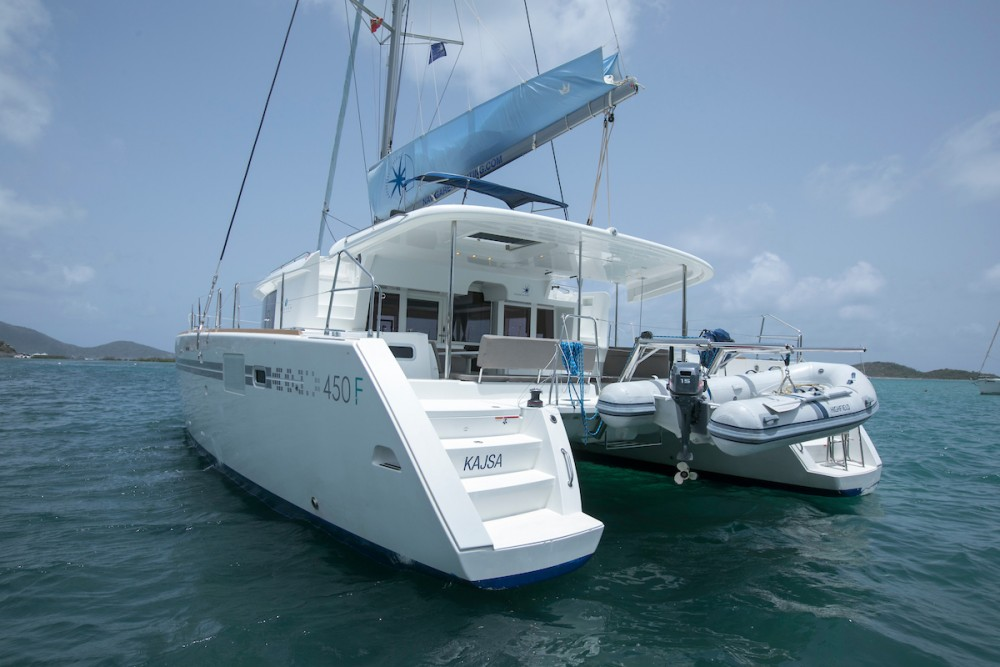 Lagoon Lagoon 450 between personal and professional Tortola