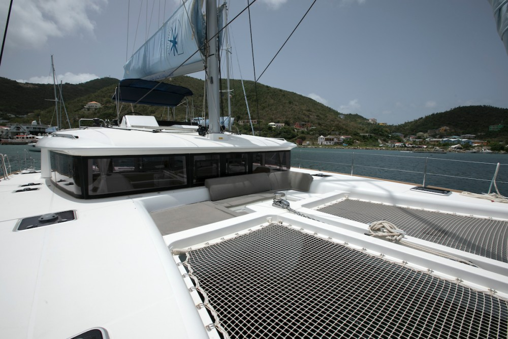 Boat rental Tortola cheap Lagoon 450