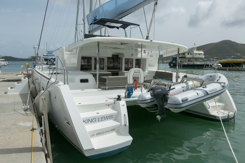 Lagoon Lagoon 450 between personal and professional Tortola
