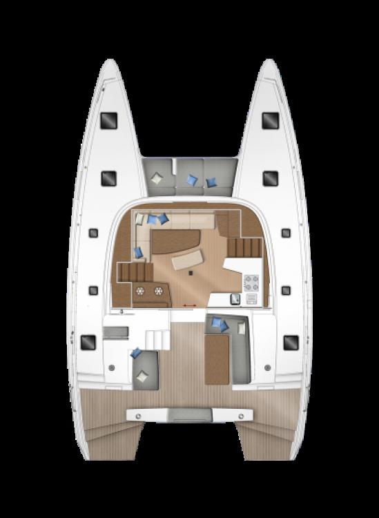 Rental Catamaran in Péloponnèse - Lagoon Lagoon 42